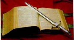 Cuvantul Bibliei -  sabie cu doua taisuri