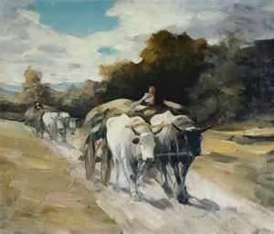 Carul cu boi- Grigorescu