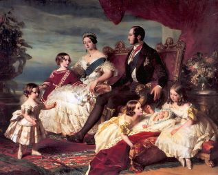 Family of Queen Victoria 1846