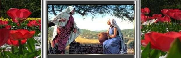 Isus și femeia Smariteanca în Sihar