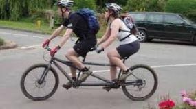 Bicicleta dubla