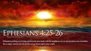 Efeseni, 4.25-26