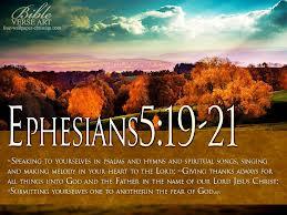 Ephesians 5.19-21