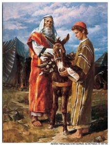Avraam cu Isaac