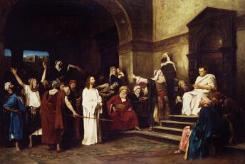christ-before-pilate-mihaly-munkacsy