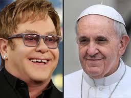Elton John si Papa