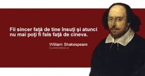 Shakespeare, SINCERITATEA