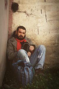 Catalin Ciuculescu in rolul omului străzii