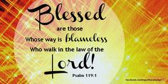 Psalm 119 1