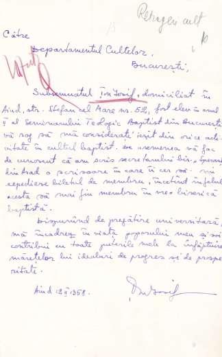 1958-iosif-ton-scrisoare-de-retragere-din-cultul-baptist