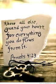 Proverbe 4.23