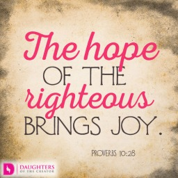 The-hope-of-the-righteous-brings-joy