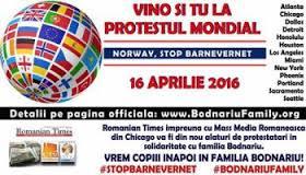 Stop Barnevernet, 16 April